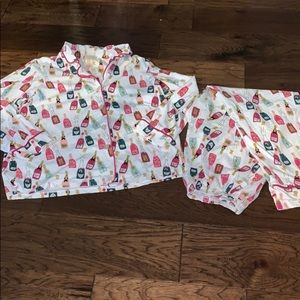 BedHead Pajamas • Champagne Print • Size 1X